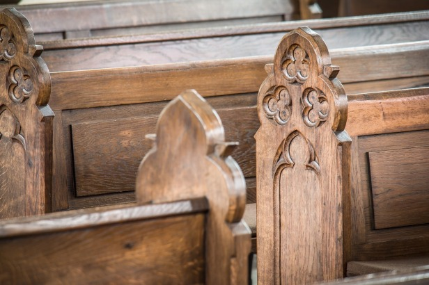 Church pews | We'll Burn in Heaven by J Saler Drees