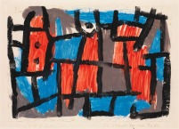 The Hour Before One Night by Paul Klee (1940)
